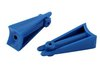 "Material: High Molecular Weight Polyethylene Tolerance:+/-.003"" Tool: 4 cavity Industry: Agriculture"